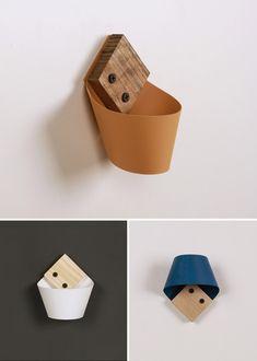 laselva studio designs minimalist loop wall hook/holder