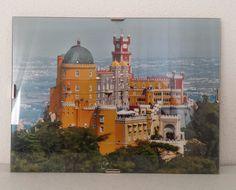 Sintra Portugal Palacio da Pena Palace Photographic Image Glass Framed 20x15cm | eBay