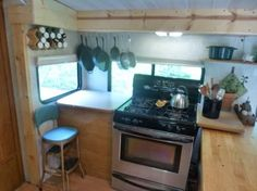 This Kirkwood Travel Trailer Tiny House on Wheels is for sale starting in June 2015 in case you're interested.Update: Sold. This custom redesigned travel trailer to tiny home conversion even…