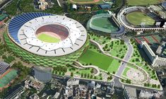 Gallery of Finalists announced for Japan's New National Stadium - 5