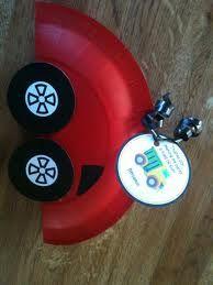 paper plate car for transportation unit