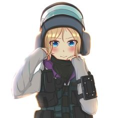 Rainbow six IQ by JIZI