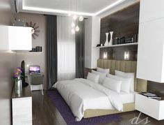 Master Bedroom ideas for modern contemporary concept :)