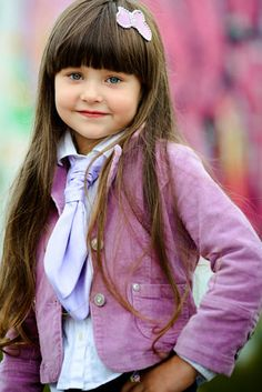 Classic Cute Long Style for a Little Girl