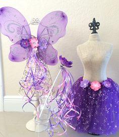 Purple Fairy Costume Purple Fairy Purple Fairy by partiesandfun