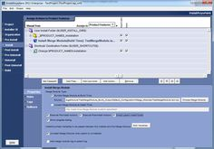 Using InstallAnywhere Merge Modules. Graphic from Flexera Software.