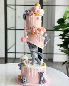 A birthday party is a special occasion to everybody celebrate every year.A special birthday cake is a must. What birthday cake ideas you should try, then? Pretty Birthday Cakes, Special Birthday Cakes, Baby Birthday Cakes, Bear Birthday, Girl Birthday, Birthday Cake Designs, Fancy Cakes, Cute Cakes, Beautiful Cakes