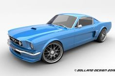 design by zolland design #mustang#1965#custom#ford