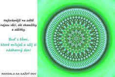 Mandala Nejkrásnější zážitky a chvíle Mandala Art, Symbols, Words, Health, Horse, Glyphs, Icons