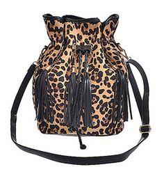 Leopard bucket bag #pinspiredcloset