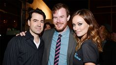 Ron Livingston, Joe Swanberg, and Olivia Wilde at the LA Premiere of Drinking Buddies
