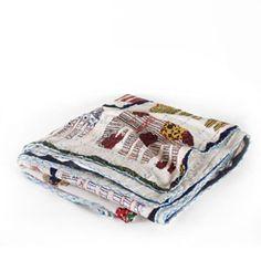 Handmade Elephant Quilt