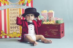 Circus birthday photo inspiration