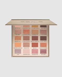 Drugstore Eyeshadow Palette, Nude Eyeshadow, Eyeshadow Brushes, Eyeshadow Pallettes, Eyeshadows, Iconic London Makeup, Makeup Pallets, Peach Bellini, How To Apply Eyeshadow