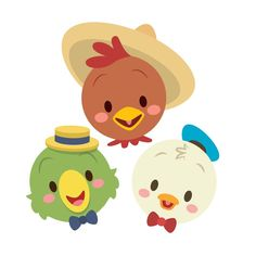 Three Caballeros designed by Jerrod Maruyama. Connect with them on Dribbble; the global community for designers and creative professionals. Disney Babys, Disney Duck, Cute Disney, Baby Disney, Princess Disney, Disney Films, Disney Pixar, Disney Characters, Chibi Disney