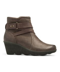 0b4f145816 Another great find on  zulily! Brown REVhex Leather Bootie by Cobb Hill   zulilyfinds