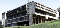 Saint Marie De La Tourette Monastery by Le Corbusier, near Lyon, France, 1960