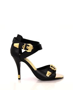 Black Gold Sandal
