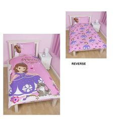 Sofia The First 'Amulet' Reversible Single Duvet Cover With Pillowcase Panel Design, 2015 Amazon Top Rated Duvet Covers & Sets #Home