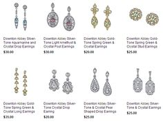 'Downton Abbey' Jewelry Collection - See the New Spring 2014 Pieces!