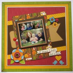 Scrapbook Layout Doodlebug Designs #scrapbook #layout #papercraft