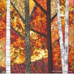 Gorgeous fall quilt I spotted on kaboodle. Way out of my price range.