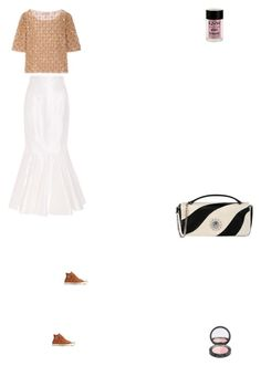 """Grace"" by zoechengrace on Polyvore featuring Alessandra Rich, Temperley London, Converse, Moschino Cheap & Chic and Charlotte Russe"