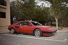 Abandoned Ferrari Mondial