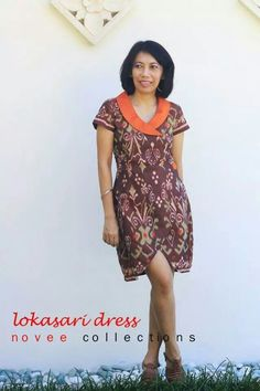 dress batik  Batik Pranandari  Pinterest