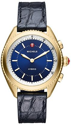 9a692eeaf24ed MICHELE Women s Hybrid Smartwatch, Color Blue Blue (Model  MWWT32A00010)