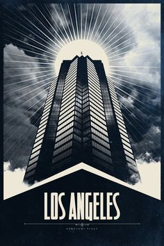 Die Hard Inspired LA Poster
