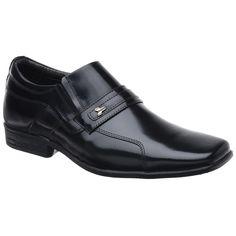 Sapato Social Masculino Em Couro Box Francalce - FKV Calçados