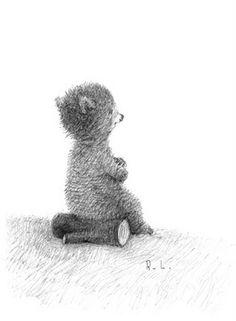 Bear illustration by Renata Liwska