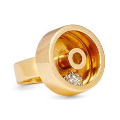Yael Sonia Perpetual Motion Spinning ring