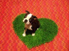 Dog Mat,  Pet Mat For Lap Dogs, MINI Pet Bed, Pee Pad, Pet Gift, Perfect Pet Valentine, Dog Valentine, on Etsy, $12.00
