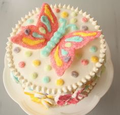 The Beautiful Butterfly Cake- tutorial