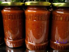 Kisildi: Vinettás zakuszka (alaprecept) Minion, Pesto, Salsa, Jar, Food, Gravy, Minions, Salsa Music, Jars