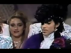 MADONNA presents award to PRINCE in 1985 - YouTube