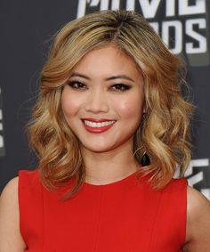 Jessica Lu | Home » Jessica Lu » Jessica Lu Hairstyle - Formal Medium Wavy ...