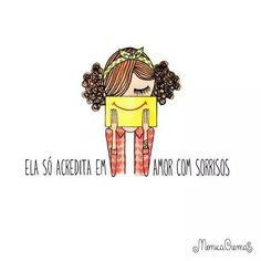 :) ♥ #monicacrema #ilustração