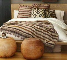 African textiles | Kuda cloth cushions More
