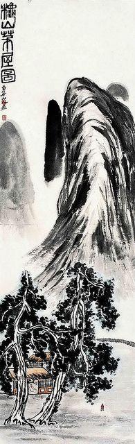 齐白石-秋山茅屋图 by China Online Museum - Chinese Art Galleries, via Flickr