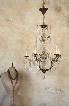 Dress forms and chandys ~available at American Home & Garden in Ventura CA