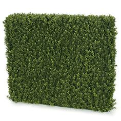 """Artificial Boxwood Hedge Backdrop for special events and venues.    Commercial quality plant like features Tutone Green Limited UV protection Heights range from 12""""-30"""" Lengths range from 24""""-48"""" Don't see what you need?  Call us for further customized products."""