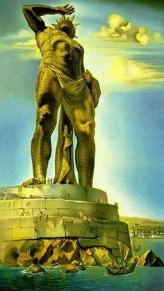 Colossus Of Rhodes - Salvador Dali