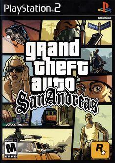 Grand Theft Auto San Andreas Box Shot For Playstation 2 San Andreas Game San Andreas Gta San Andreas