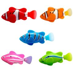 1PC Electronic Simulation Of Electric Induction Magic Tour Fish Children Swimming Fish tank decoration