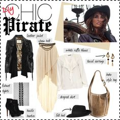 """""""DIY: Chic Pirate Costume"""" by sofakingchill on Polyvore... Pirate Costume! <3"""