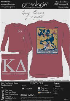Kappa Delta Homecoming shirt, precious