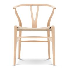 Carl Hansen Wishbone Chair - Wood designed by Hans Wegner - The Wishbone Chair, was designed by Hans J.Wegner in Manufactured by Carl Hansen & Son in Denmark the Wishbone Chair is every inch the Danish design classic.